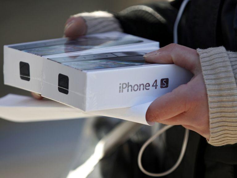 China vende el iPhone 4S sin autorización