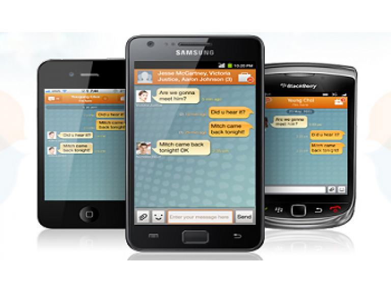 Samsung también lanza su propio servicio de mensajería instantánea