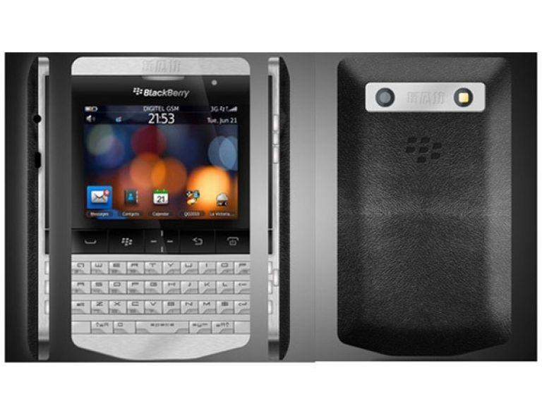 Conoce el BlackBerry con diseño de Porsche