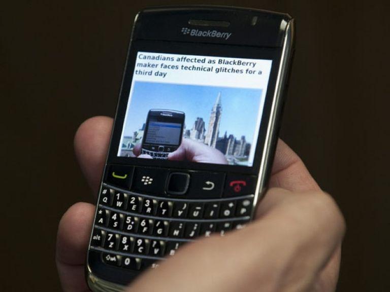 BlackBerry otra vez con problemas
