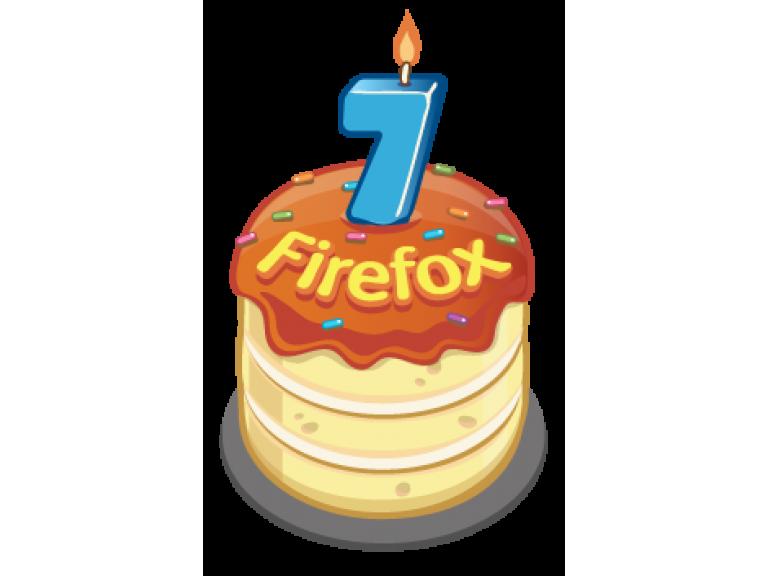 Firefox cumple 7 años