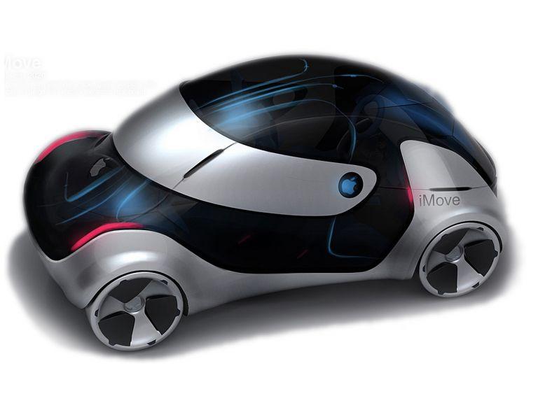 iMove 2020 el futuro auto de Apple