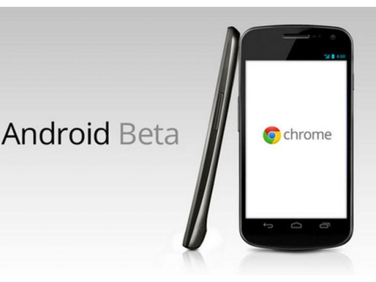 Chrome llegó a celulares y tablets con Android.