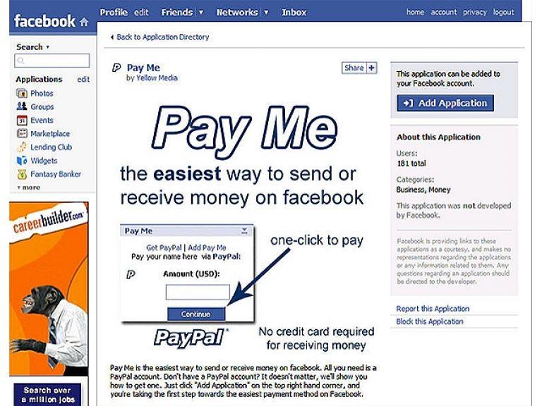 Facebook venderá productos virtuales a través de PayPal.