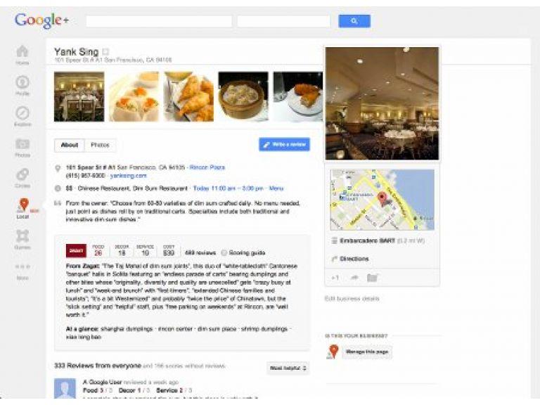 Google mejoró herramienta para recomendar hoteles y restaurantes.