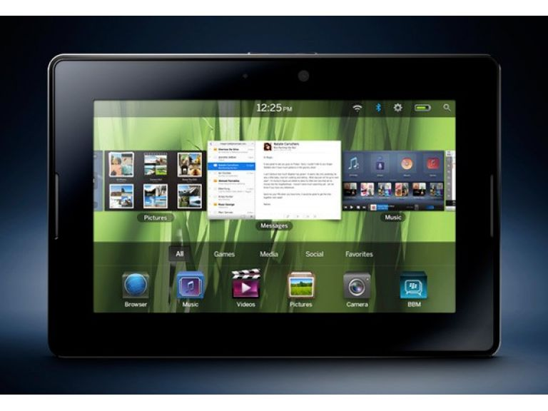 BlackBerry lanza un nuevo modelo de su tablet PlayBook.