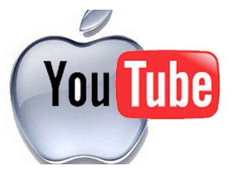 Apple no incluirá por defecto la aplicación de YouTube.