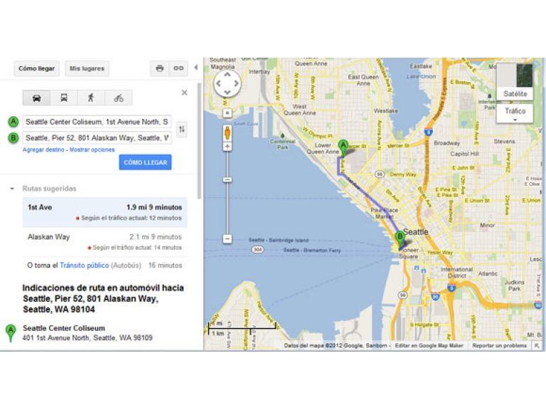 La vuelta al mundo con Google Maps.