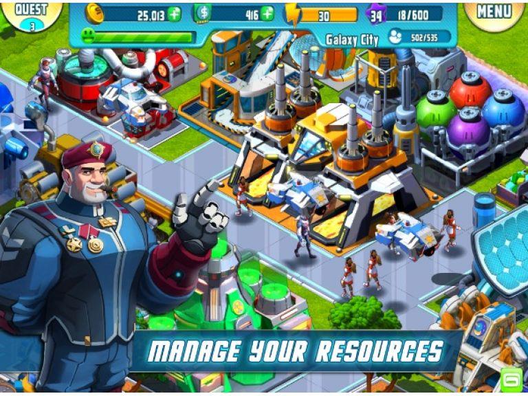 Cosmic Colony, un completo juego de estrategia gratis para móviles.