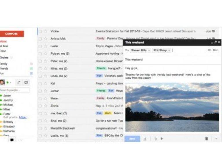 Gmail estrena nueva interfaz gráfica.