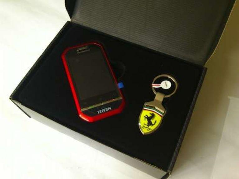 La nueva Ferrari de Motorola para líneas Nextel