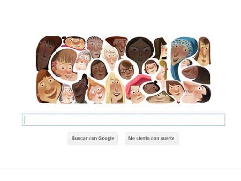 Google y Facebook celebran a las mujeres