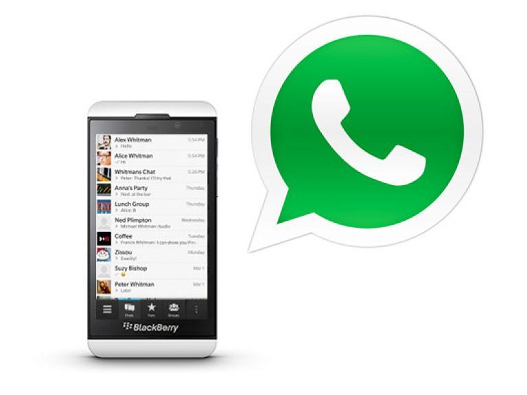 WhatsApp, disponible para BlackBerry 10