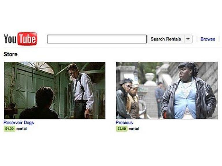 YouTube puso en marcha su sistema de alquiler en los EEUU.