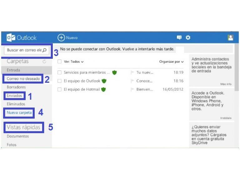 Outlook.com elimina la posibilidad de enlazar cuentas