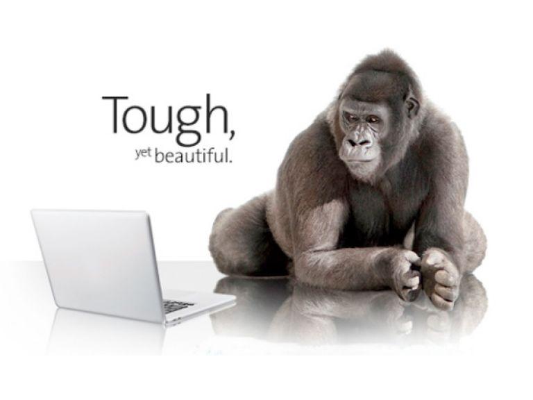 Nuevo Gorilla Glass para pantallas táctiles de laptops