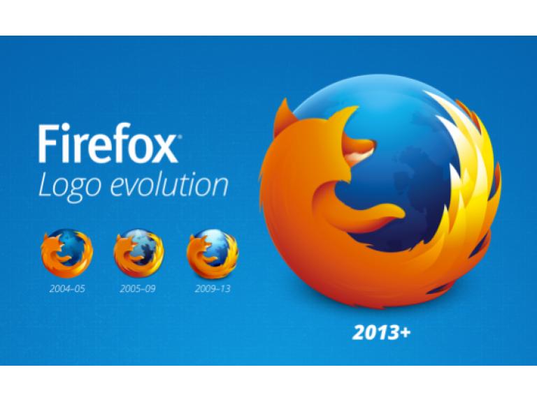 Firefox está estrenando nuevo logo en su versión 23