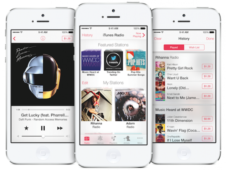 Próximamente iTunes Radio estará disponible