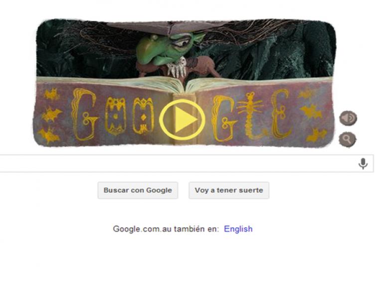 Google celebra Halloween