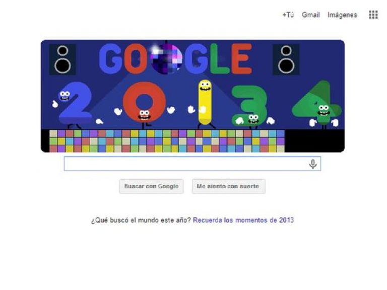 Google y su animada despedida al presente año