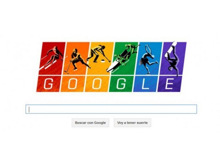 Google en su nuevo doodle protesta contra las leyes anti-gay de Rusia