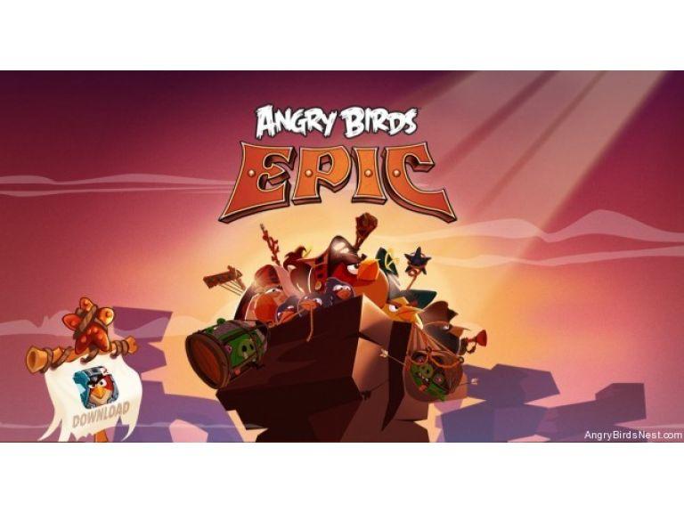 Angry Birds regresará con Angry Birds Epic