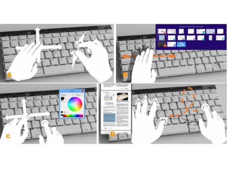 Prototipo de teclado con sensor de movimiento es creado por Microsoft