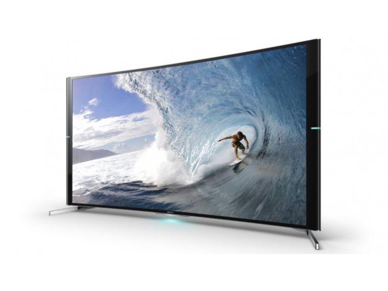 La  primer TV curva 4K de Sony