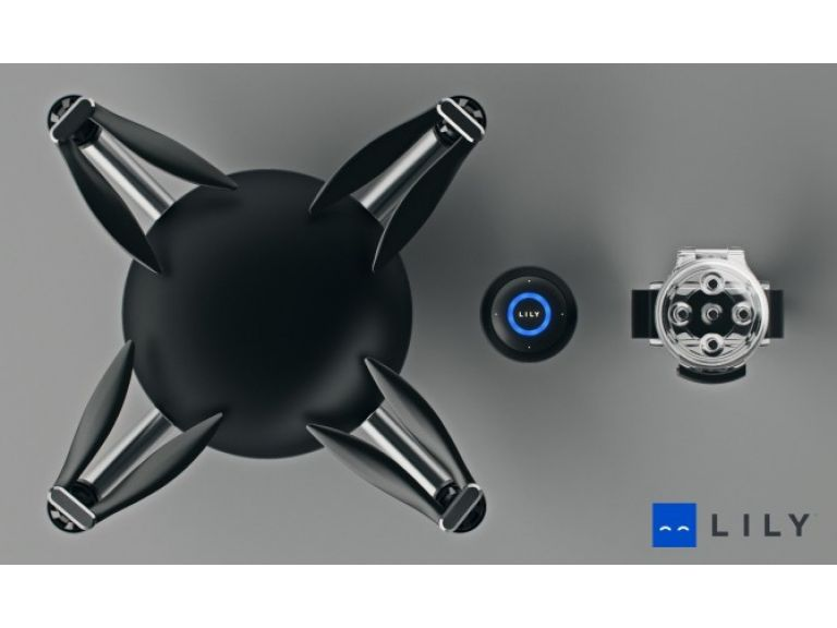 Un dron que te graba haciendo deporte