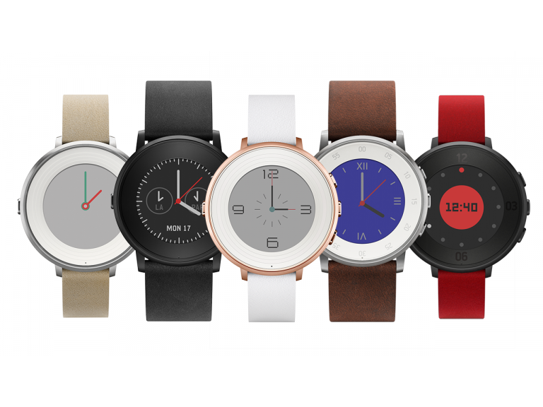 Pebble Time Round es el smartwatch circular de Pebble