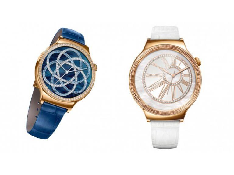 Huawei y Swarovski dieron vida a dos relojes inteligentes de lujo