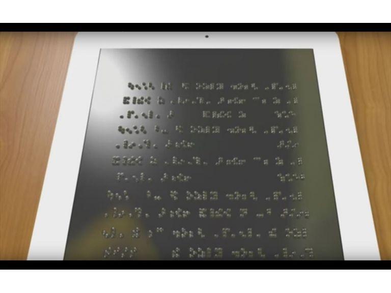 Desarrollarán la primera tablet para personas con discapacidad visual