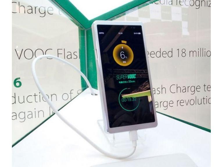 Oppo presentó tecnología capaz de cargar tu celular en 15 minutos