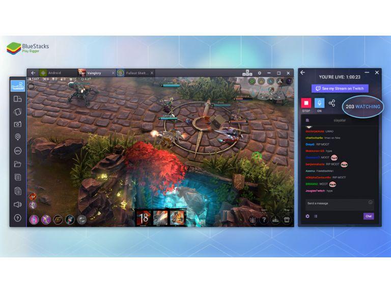 BlueStacks TV te permite hacer stream de tus juegos de Android en Twitch