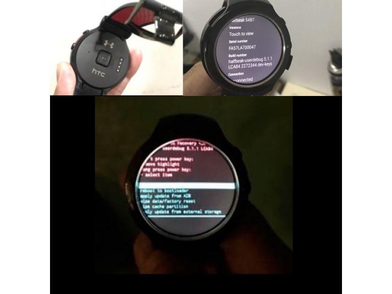 Este sería el primer smartwatch de HTC