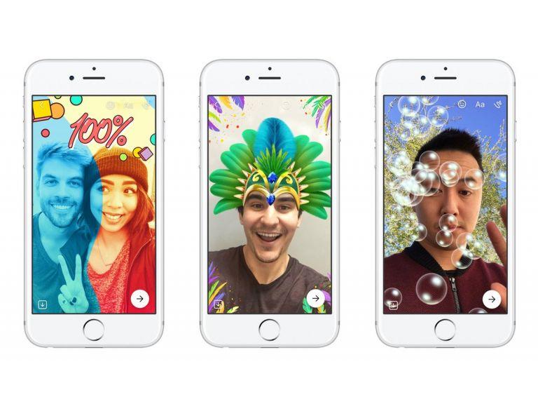 Facebook Messenger lanza su propio clon de Snapchat Stories