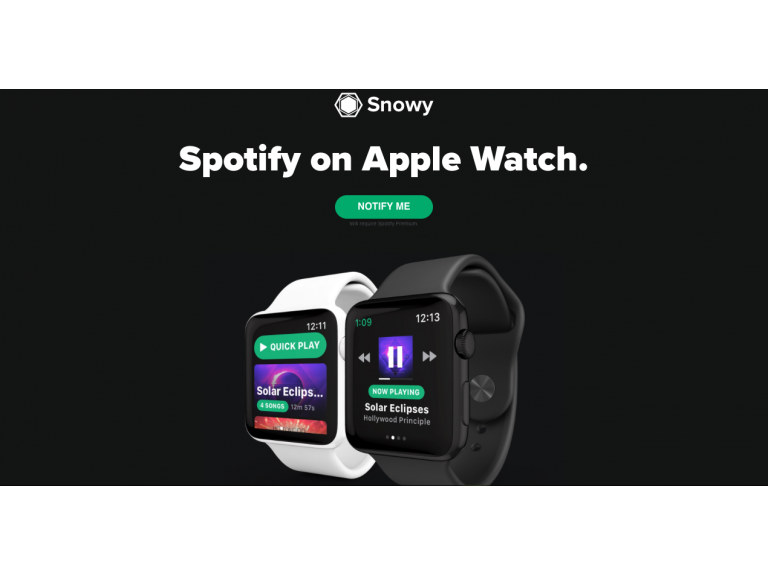 Va a salir Spotify para el Apple Watch