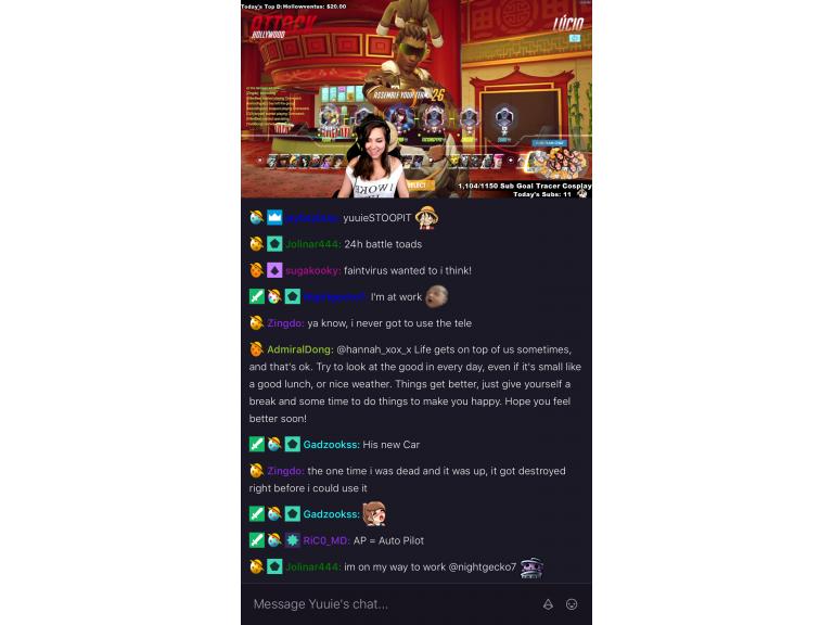 Twitch actualiza su aplicación con nueva interfaz oscura