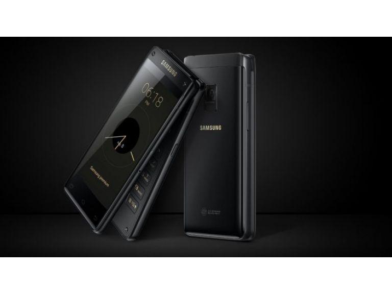 Samsung anuncia su nuevo celular de almeja Leader 8
