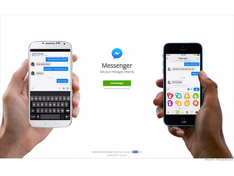 Facebook Messenger se despide
