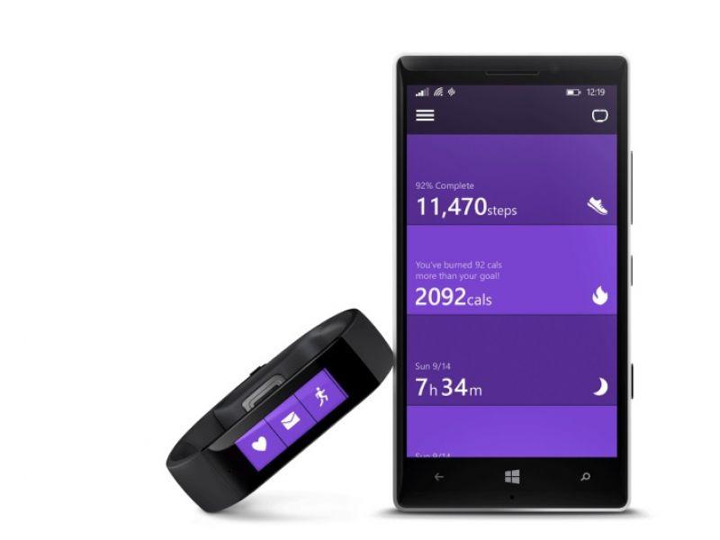 Microsoft Band y Health