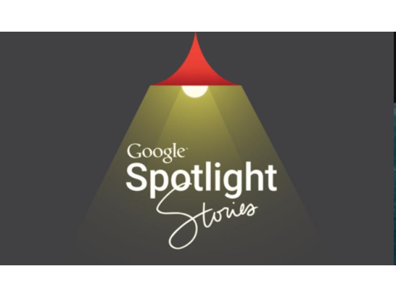 Google lanza Spotlight Stories en iOS