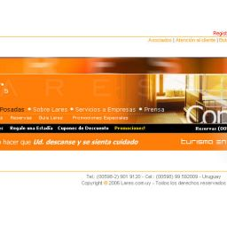 Diseño de sitios web superior - Lares Estancias y Posadas