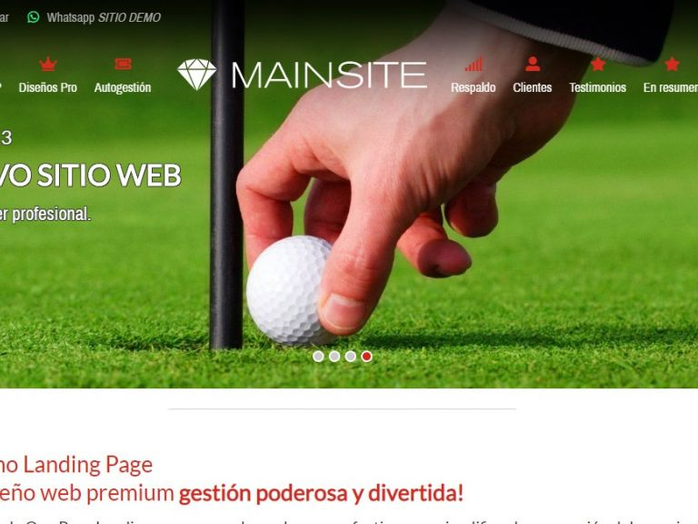LANDING 13, Opción de diseño profesional web landing page