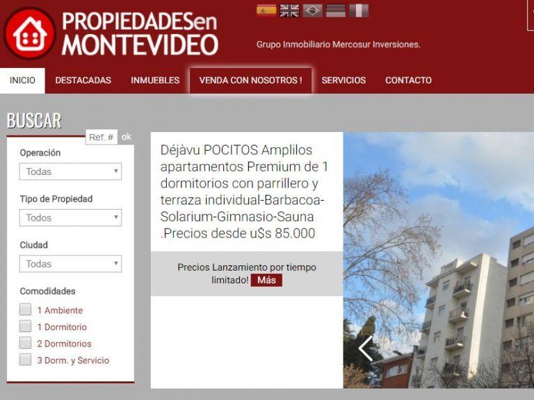 Propiedades en Montevideo. Proyecto del Grupo Inmobiliario Mercosur Inversiones. - Propiedades en Montevideo