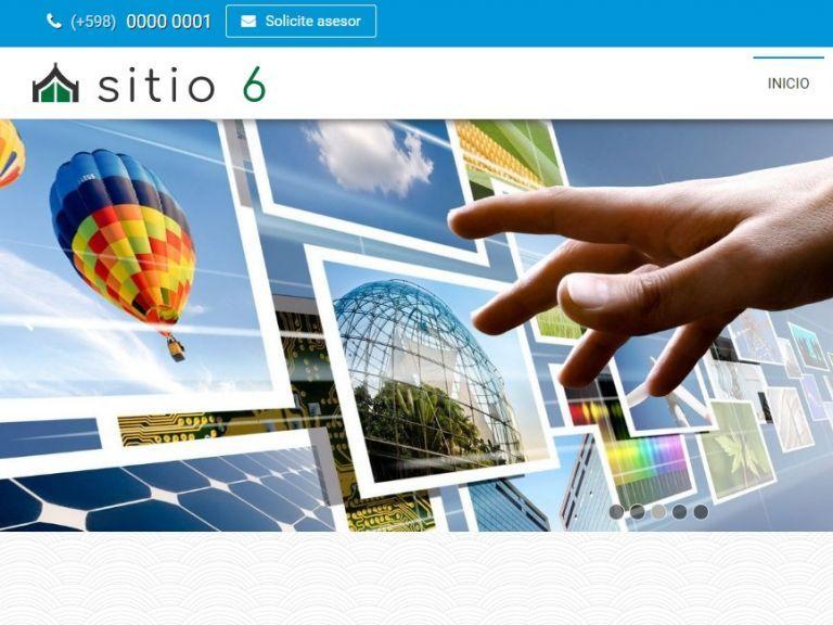 INSTITUCIONAL 6 . Diseño sitio web institucional