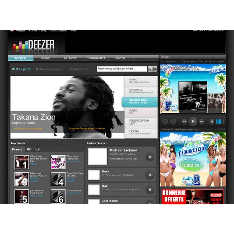 Deezer se asocia a Foursquare