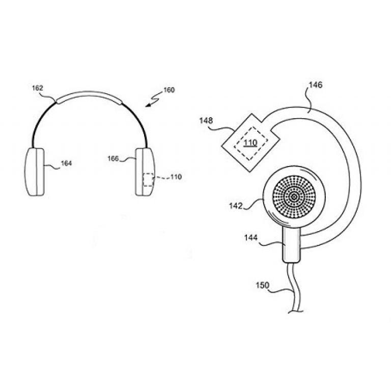 Audífonos que registran la actividad del usuario son patentados por Apple