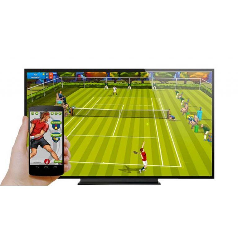 Usando tu Chromecast y un Nexus 5, Motion Tennis emula la jugabilidad del Wii