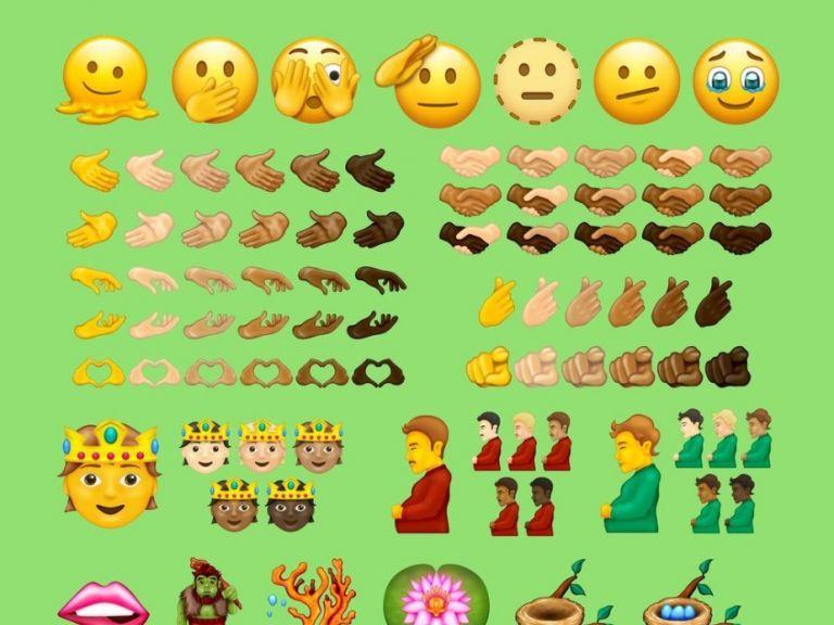 Emoji 14.0 se revela: conoce los nuevos emojis que llegarán en 2022